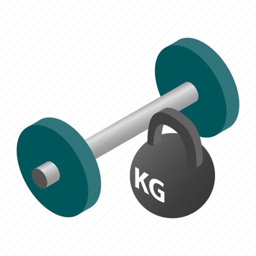 bar, gym, iron, isometric, kettlebell, rod, weight icon