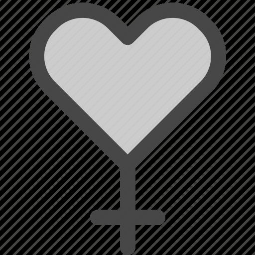 attraction, female, heart, love, passion, sex, woman icon