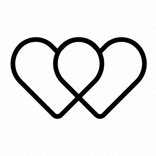 heart, hearts, in love, infinite love, infinity, love, valentines icon