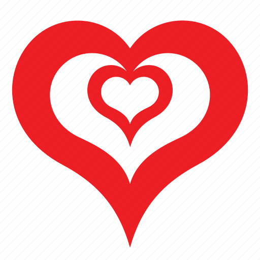 Abstract, day, heart, love, romance, valentines icon - Download on Iconfinder