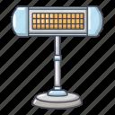 cartoon, heater, heating, logo, object, radiator, ufo
