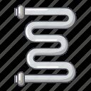 battery, cartoon, coil, heater, heating, logo, object