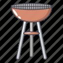 barbecue, cartoon, heater, heating, logo, object, radiator
