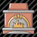 blast, cartoon, furnace, heater, heating, logo, object