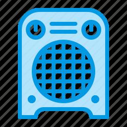 fan, heater, heating, home icon