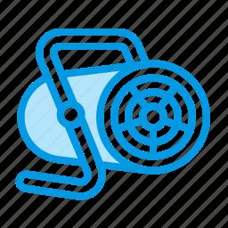 fan, heating, industrial icon
