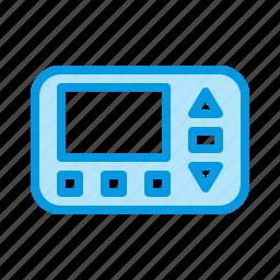 climate, control, temperature, thermostat icon