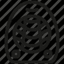 fan, heater, heating icon
