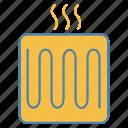 element, floor, heater, heating, heating system, pipe, underfloor icon
