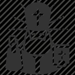 christ, christian, morals, pope, priest, prophet, religion icon