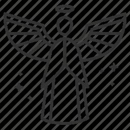 angel, archangel, fairy, god, good, heaven, seraph icon