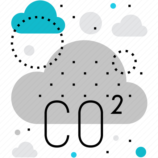 air, atmosphere, ecology, emissions, pollution, problem, smog icon