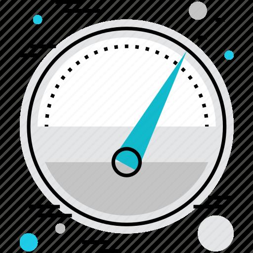 barometer, gauge, measure, measurements, meter, pressure, rate icon