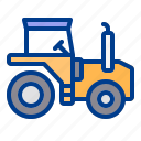 construction, farm, heavy, tractor, vehicle icon