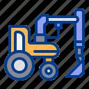 claw, construction, excavator, heavy, vehicle