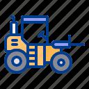 construction, fork, heavy, loader, vehicle