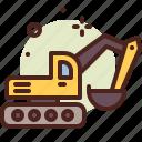 construction, vehicle, army, heavy, machinery