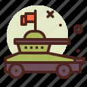 vehicle, tank, army, heavy, machinery