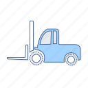 cargo, lifter, vehicle icon
