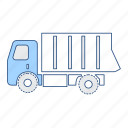 dumper, vehicle icon