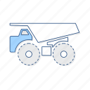 haul, truck, vehicle icon