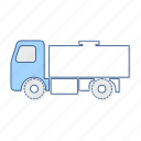 container, liquide, vehicle icon
