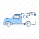 mini, toll, truck, vehicle icon