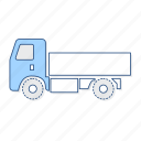 mini, truck, vehicle icon