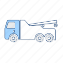 toll, truck, vehicle icon