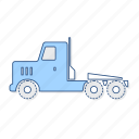 trailer, truck, vehicle icon