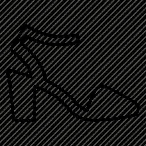footwear, heel, heels, sandal, sandals, shoe, shoes icon