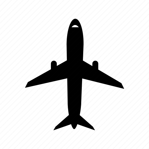 aeroplane, aircraft, airplane, airport, flight, helicopter, plane icon