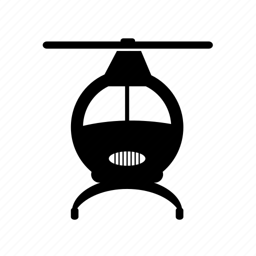 aircraft, airplane, chopper, flight, helicopter, transport, vehicle icon