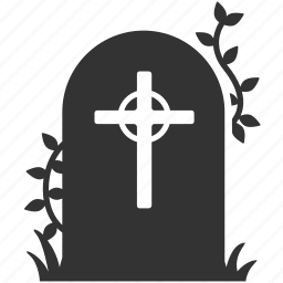 death, grave, graveyard, rip, tomb, tombstone icon