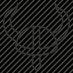 avatar, guard, hat, helmet, protection, viking, warrior icon
