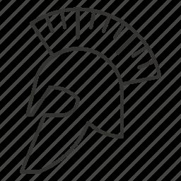 avatar, helmet, protection, safety, sparta, spartan, warrior icon