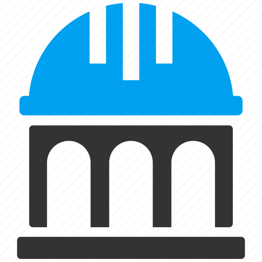 architecture, building, construction, monument, project, property, structure icon