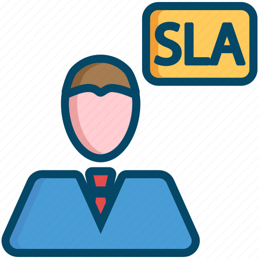 agreement, helpdesk, level, service, sla, support icon