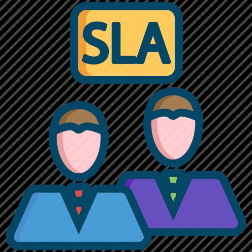 agreement, helpdesk, level, response, service, sla, support icon