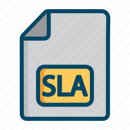 agreement, contract, helpdesk, level, service, sla, support icon