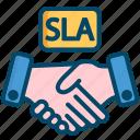 agreement, deal, helpdesk, level, service, sla, support