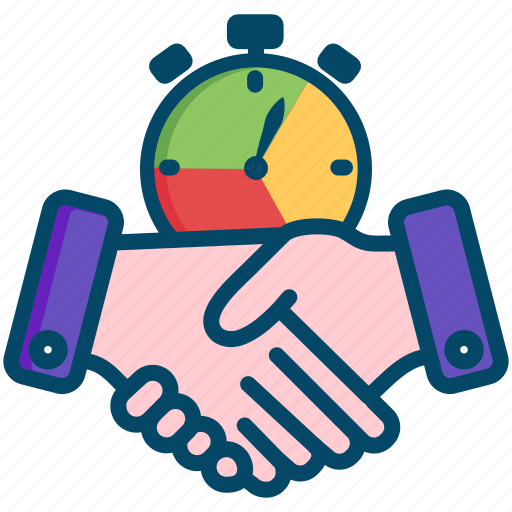 agreement, hands, helpdesk, level, service, sla, support icon
