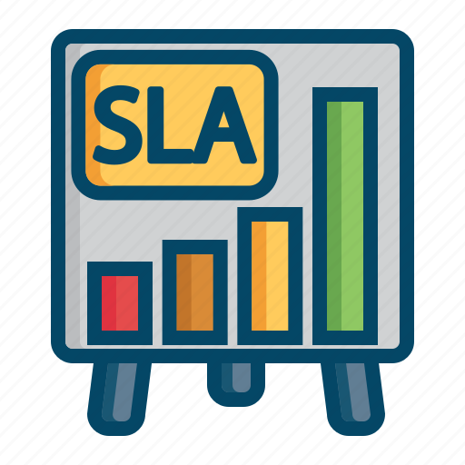 agreement, helpdesk, level, report, service, sla, support icon