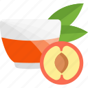 apple, drink, fruits, herbal, tea icon