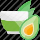 avocado, fruits, herbal, tea