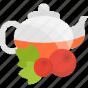 berry, fruits, herbal, tea