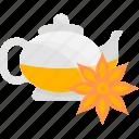 flower, fruits, herbal, tea