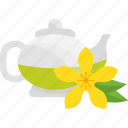 drink, flower, fruits, herbal, tea icon
