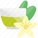 drink, flowers, fruits, herbal, tea icon