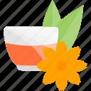 food, fruits, herbal, tea